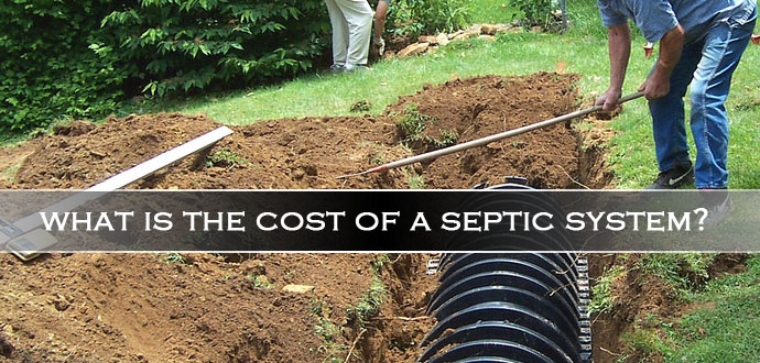 What is the cost of a septic system?
